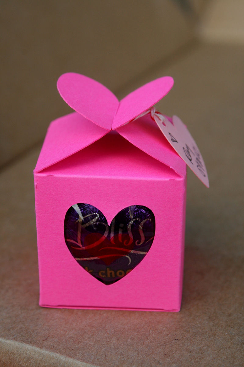 Valentine heart box 2