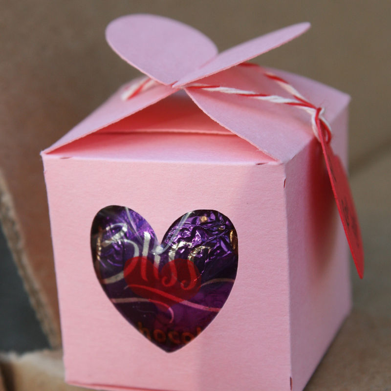 Valentine heart box 5