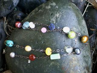 Multistone_necklace_gunmetal