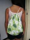 Backpack_drawstring_green_hawaiian_print_1